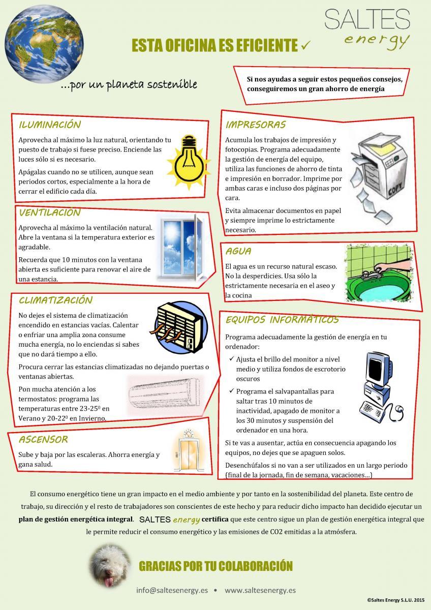 Estrenamos cartel para medidas de concienciaci n y ahorro for Oficina de consumo murcia